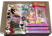 QTY inc Collection of dolls and figures: Mattel