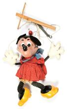Pelham Puppets display Minnie Mouse