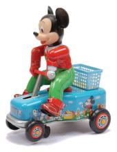Modern Toys (Japan) Mickey Mouse car, tinplate