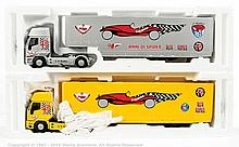 PAIR inc Il Bialbero Alfa Club car transporter