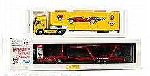 PAIR inc Il Bialbero car transporter - yellow