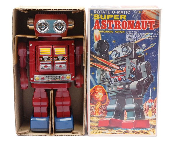 SH (Japan) Rotate-O-Matic Super Astronaut