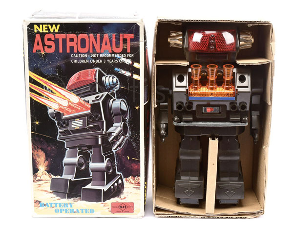 SH (Japan) New Astronaut. Battery operated