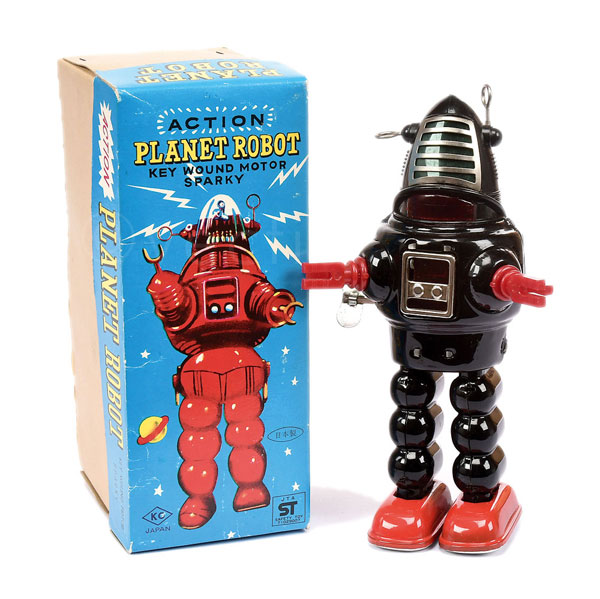 KO (Japan) Planet Robot. Clockwork later issue