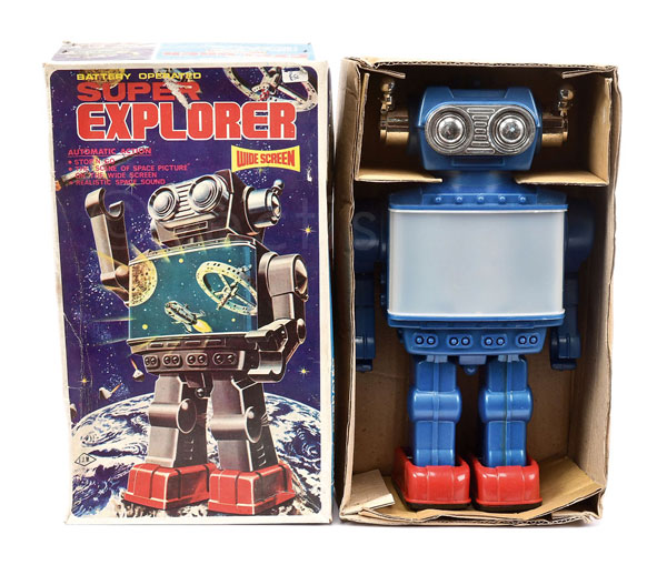 SJM (Taiwan) Super Explorer Wide Screen Robot