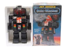 Star-Master Jet Smoke Robot (China). Black