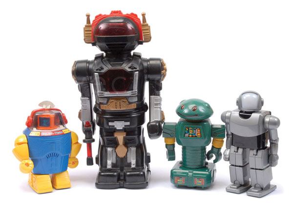 GRP inc  Chinese Battery Operated Plastic Robots
