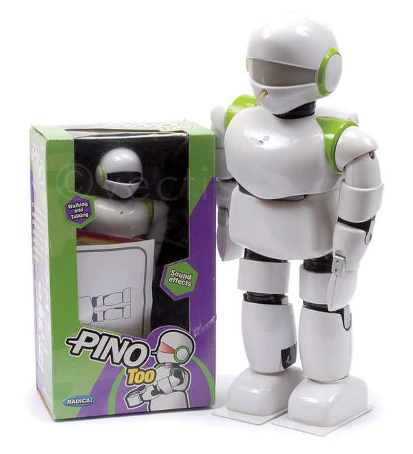 PAIR inc Radica (China) Pino Interactive Robot