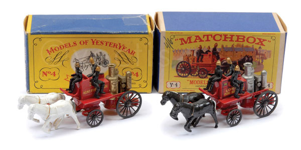 PAIR inc Matchbox Models of Yesteryear Y4 Shand