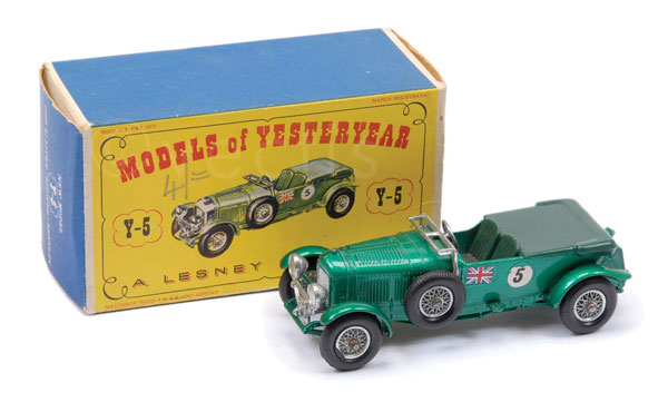 Matchbox Models of Yesteryear Y5 4.5L Bentley