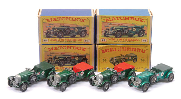 GRP inc Matchbox Models of Yesteryear Y5 4.5L