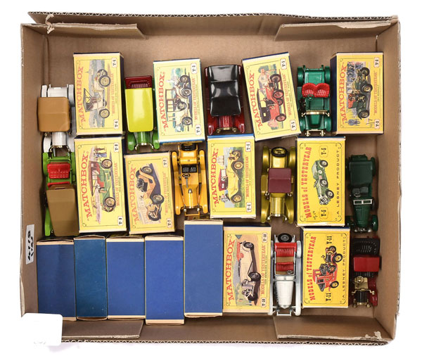 GRP inc Matchbox Models of Yesteryear 60's issue