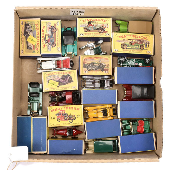 Matchbox Models of Yesteryear 60's issue Cars Y1