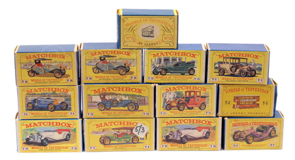 GRP inc Matchbox Models of Yesteryear empty card