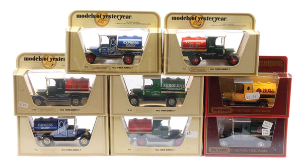 GRP inc Matchbox Models of Yesteryear Y3 Ford