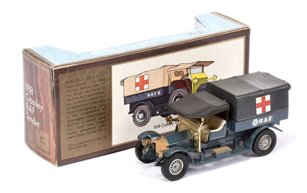 Matchbox Models of Yesteryear Y13 Crossley - RAF