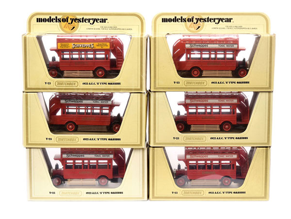 GRP inc Matchbox Models of Yesteryear Y23 AEC