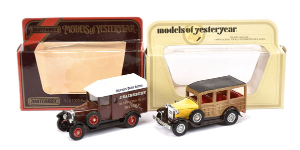 PAIR inc Matchbox Models of Yesteryear