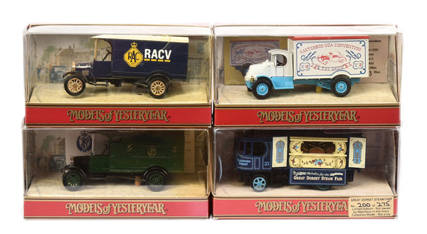GRP inc Matchbox Models of Yesteryear Code 2/3