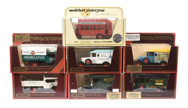 GRP inc Matchbox Models of Yesteryear Code