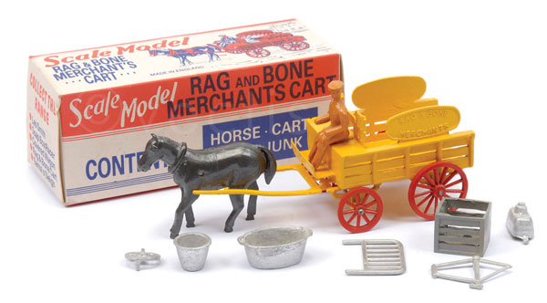Matchbox Scale Model Rag and Bone Merchants Cart