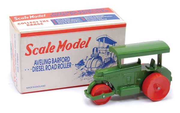 Matchbox Scale Model Aveling Barford Diesel Road