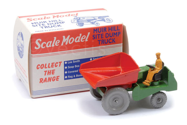 Matchbox Scale Model Muir Hill Site Dump Truck