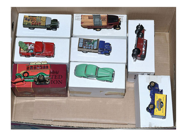 GRP inc Matchbox Collectibles LE Models