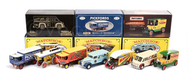 GRP inc Matchbox Collectibles (1) Y19 Fowler B6