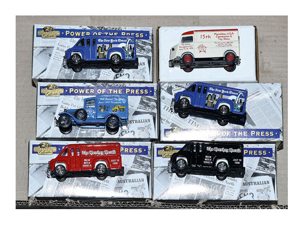 GRP inc Matchbox Collectibles and Models