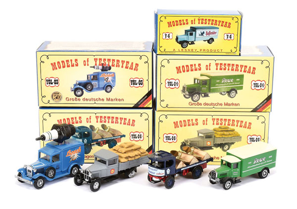 GRP inc Matchbox Models of Yesteryear German LE