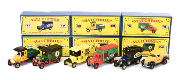 Matchbox Models of Yesteryear Code 2 LE models