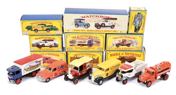 GRP inc Matchbox Models of Yesteryear Code 2 LE