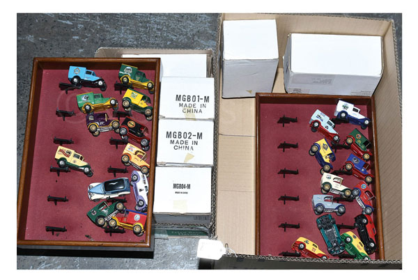Matchbox Collectibles MGB01 to MGB06