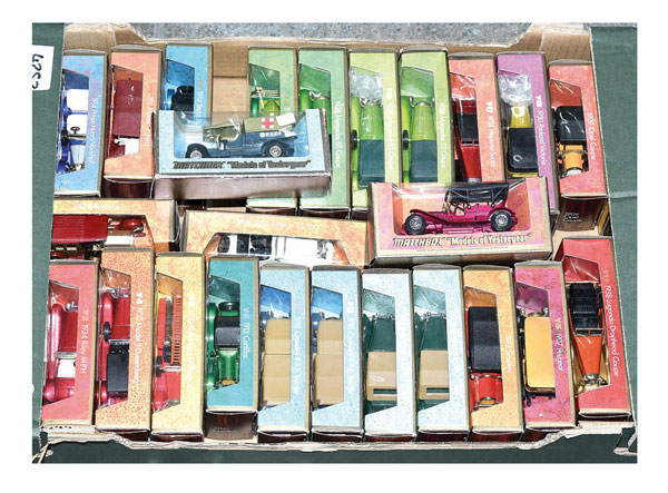 Matchbox Models of Yesteryear later 1970's issue