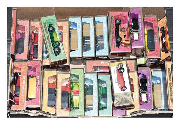 GRP inc Matchbox Models of Yesteryear later
