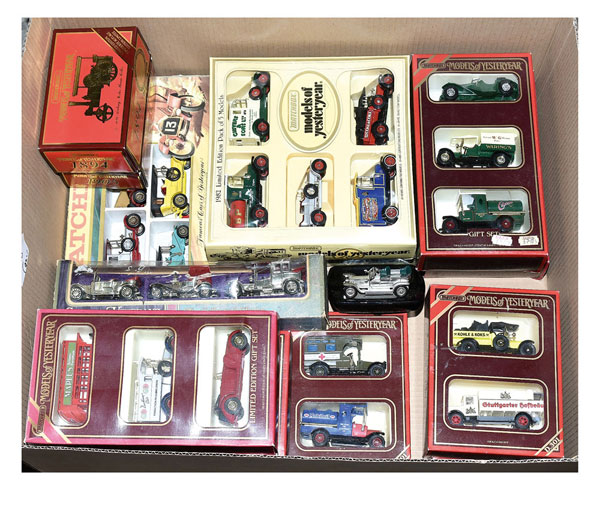 Matchbox Models of Yesteryear Gift Sets. 5 x LE