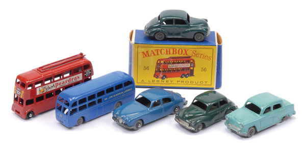 GRP inc Matchbox Regular Wheels No.56 Trolleybus