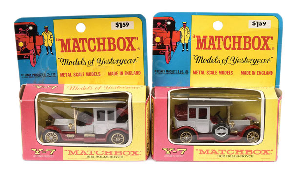 PAIR inc Matchbox Models of Yesteryear Y7 1912