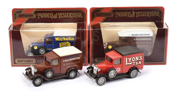 GRP inc Matchbox Models of Yesteryear 3 x Y22