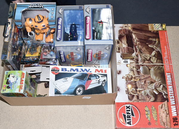 Marx Toys, Airfix, Timpo Toys, plus others. Play