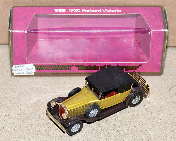 Matchbox Models of Yesteryear Y15 1930 Packard