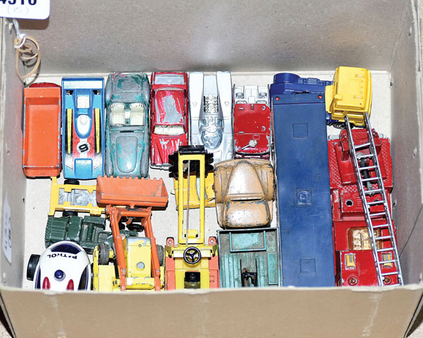 GRP inc Dinky, Matchbox and similar unboxed
