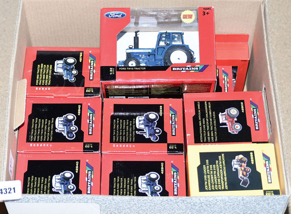 GRP inc Britains boxed Tractor related No.42556