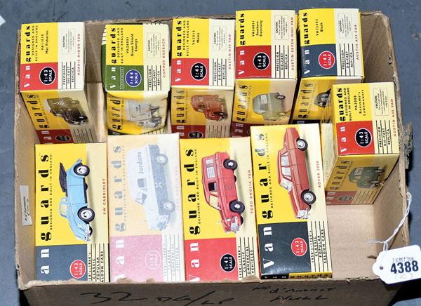 GRP inc Vanguards boxed No.VA3010 Austin A40 Van