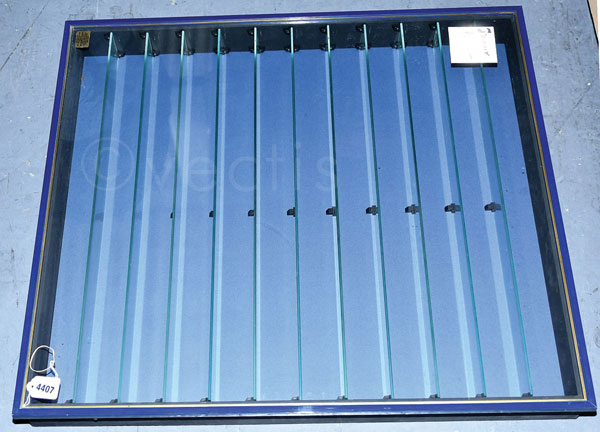 Picture Pride Display Cabinet in blue with 11