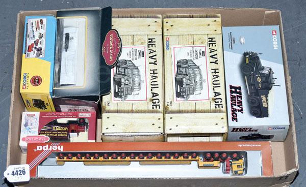 GRP inc Corgi, Herpa and similar boxed