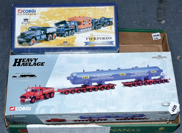 PAIR inc Corgi boxed Haulage pair. No.18006
