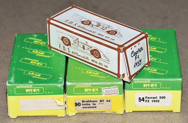 GRP inc Auto Modelli boxed kit No.54 Ferrari 500