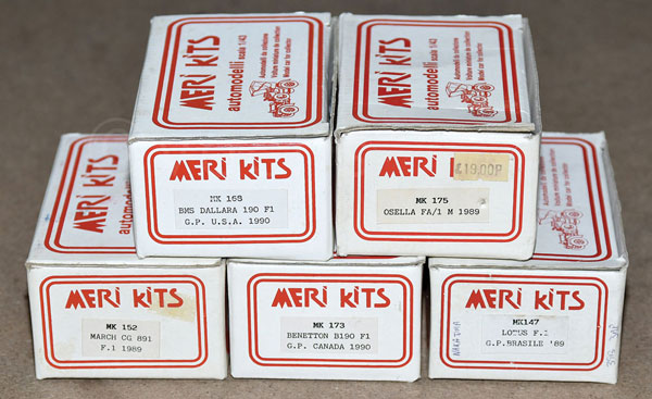 GRP inc Auto Modelli boxed kit No.MK168 BBMS